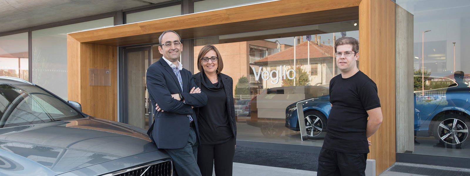 Veglio, Concessionaria Volvo ad Alba