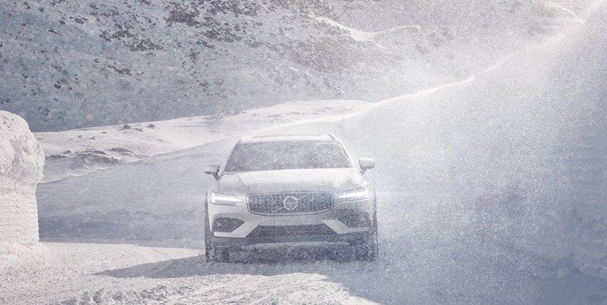 Un bianco Natale con Volvo!